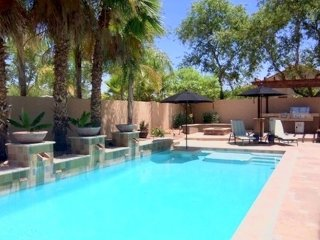 Pristine pool, great for families, corporate rentals, long term vacations.