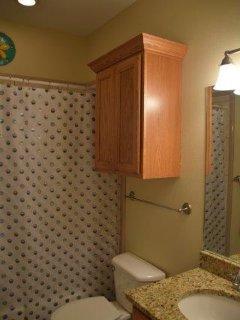 Bathroom, Indoors, Toilet, Sink, Cabinet