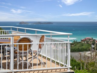 Villa Vahine 2 bedrooms, perfect for a family on holidays in St Barts