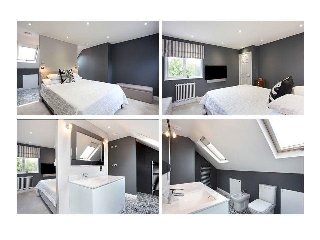 Entire Loft with two double Bedrooms and en-suite Bathroom