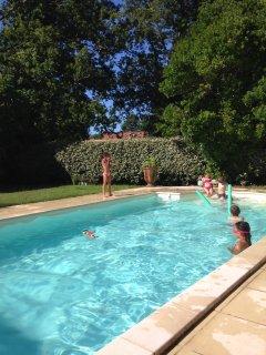 Maison Andernos Bassin d'Arcachon 8 couchages - Piscine chauffee