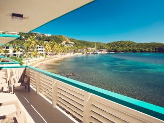 Breathtaking 2BR St. Thomas Condo w/New Pool, Amazing Bolongo Bay Views & Private Beach Access - Ideally Located Near the Island's Best Attractions!