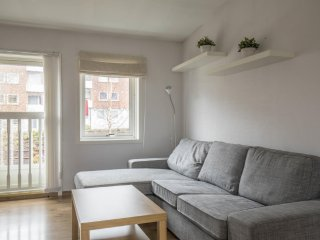 Top Floor Modern Apartment Free Parking Pro Handled 1BR 50m2, Bergen