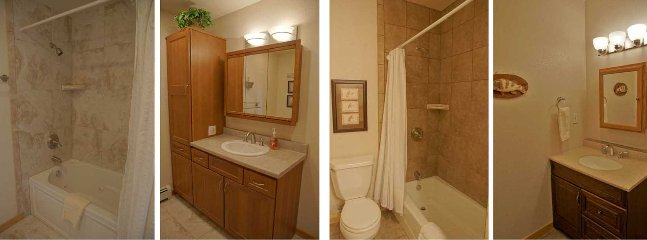 Bathroom 2 with Jacuzzi Tub and Bathroom 3 is nicely updated