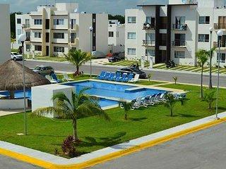 Económico y cómodo, 3 Recámaras 2 Baños Playa del Carmen