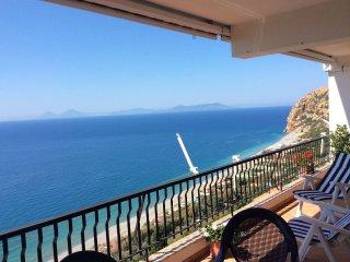 Casa con vista mare mozzafiato, Capo Calavà