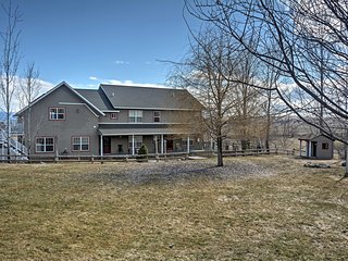 New! 4BR Polson Home w/ Studio & 4 Private Acres!
