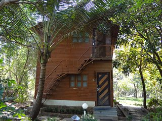 Pooja farm Resort is a 5 acre resort with 16 cottages and 2 swimming pools ., Navi Mumbai