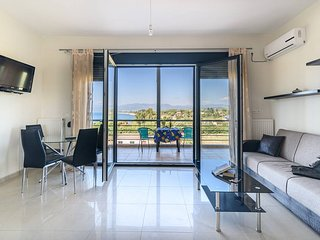 Luxury seaside apat with amazing view Ionian gulf