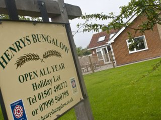 Henrys Bungalow Anderby, Sutton-on-Sea