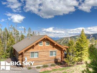 Big Sky Moonlight Basin | Cowboy Heaven Cabin 15 Rustic Ridge