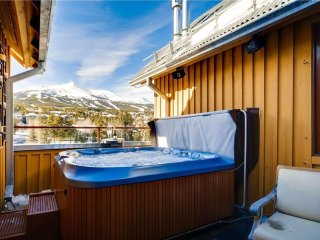 Take in Incredible Views from your own PRIVATE Hot Tub in this Downtown Condo