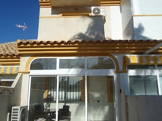 Modern town house, spacious accommodation, private patios, 5 mins walk to beach, Playa Paraiso