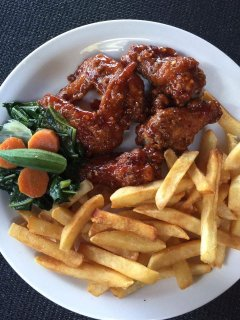 Join in our phase 'Try the Wings' at Creek City Bar and Restaurant