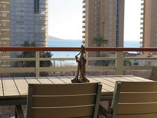 Apartamento de lujo en Benidorm 2ª linea de Playa de Levante