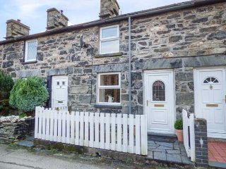 2 WHITE STREET, mid-terrace, woodburner, pet-friendly, walks from the door, in, Penmachno