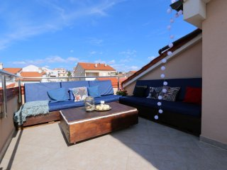 Rooftop Apartment. Novalja