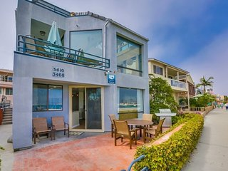 Bayside Breeze - Mission Bay Front Vacation Rental, San Diego