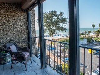 Seamark #406 | Eclectic beachfront condo with great views