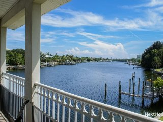 Sun Harbor #210 | Stunning waterfront condo, beach across the street, Saint Pete Beach