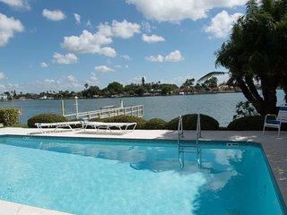 Amadeus #1 | Roomy condo in Treasure Island with waterfront pool access