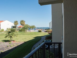 Holiday Island #B16 | Modern condo with shared pool and dock