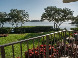 Holiday Island #F63 | Waterfront condo with shared pool and dock, Tierra Verde