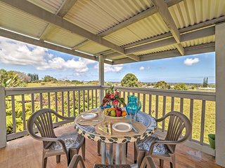 New! 3BR Hilo House w/ Ocean Views from Deck!