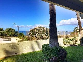Shores of Maui #124 Ocean View, Ground Floor, End Unit, 1bd/1ba, Sleeps 4-5, Kihei