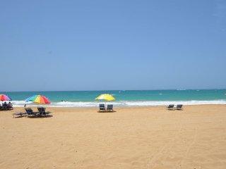 Romantic Condo at Condado Steps from the Beach