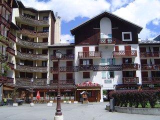 Chamonix -sud F2 Mezzaninne a louer 4 / 6 personnes