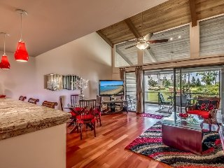 Waikoloa Villas C204 in Waikoloa Village - Ocean and Sunset Views from the