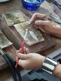 Silver Jewellery  Making Class in Sanur