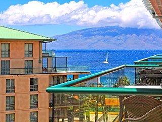 Maui Resort Rentals: Honua Kai Konea 710 – Top Floor 1BR w/ Ocean &amp