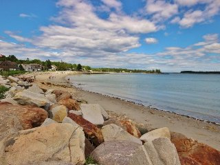 Sitting on Crescent Beach, a traditional, comfortable summer house., Rockland
