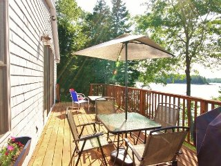 Oceanside cottage with private dock - newly renovated and private