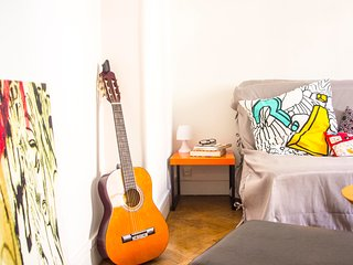 Spacious 2 Room flat (55m²) , 4 persons, near Villa Arson, Nice