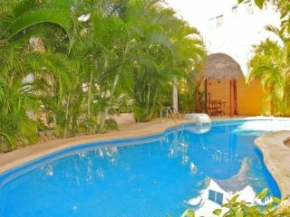 Directly off of the pool and steps to the Beach and 5th Avenue