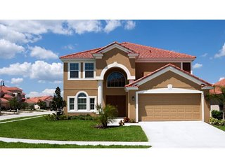 Play in Orlando from the comforts of this lovely 5 bedroom vacation home with, Davenport