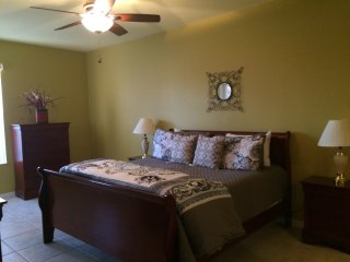 King Master Bedroom 2 with Euro-top Mattress, Ensuite Bathroom and 40' HDTV
