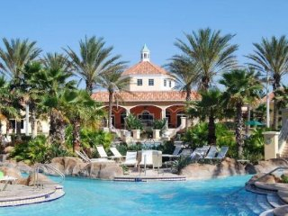Stay in Regal Palms and swim in the fantastic resort pool just 9 miles to Walt D