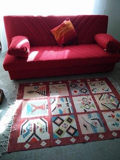 Salotto: divano letto