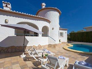 2 bedroom Villa in Benissa, Valencia, Spain : ref 5047182