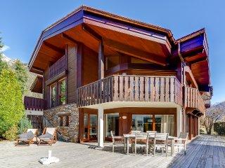 Elégant duplex avec terrasse à Chamonix