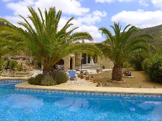 2 bedroom Villa in Jalon-Xalo, Costa Blanca, Spain : ref 2161464