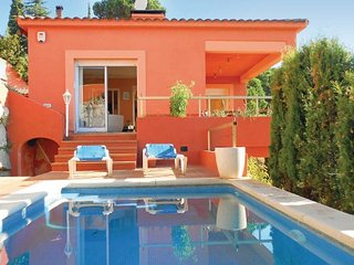 3 bedroom Villa in Sant Pol de Mar, Costa De Barcelona, Spain : ref 2222728