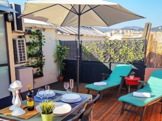Beautiful 1 Bedroom Penthouse in Gracia, Barcelona