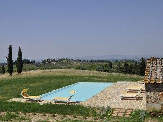 4 bedroom Villa in Castellina In Chianti, Siena Area, Tuscany, Italy : ref