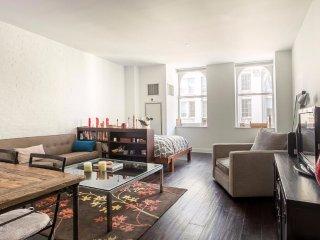 Spacious Studio Apartment in Chelsea
