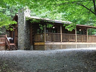 Shady Grove - Secluded Mountain Cabin with Hot Tub and Fire Pit - Less than 15